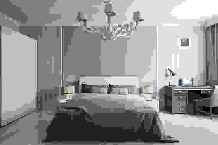 Студия интерьера 'SENSE' Eclectic style bedroom Purple/Violet