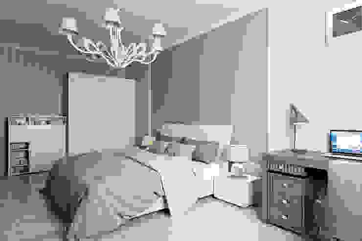 Студия интерьера 'SENSE' Eclectic style bedroom White