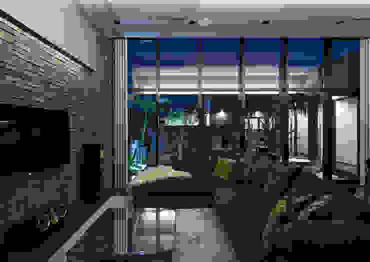 Moderne Wohnzimmer von 一級建築士事務所 馬場建築設計事務所 Modern