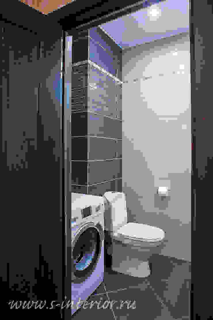 Студия интерьера 'SENSE' Eclectic style bathroom Blue