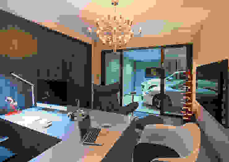 Escritórios modernos por 一級建築士事務所 馬場建築設計事務所 Moderno