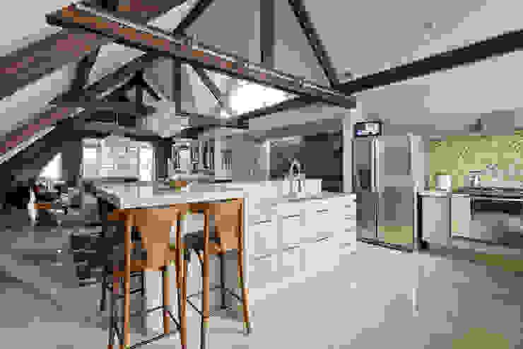Estúdio IR 現代廚房設計點子、靈感&圖片