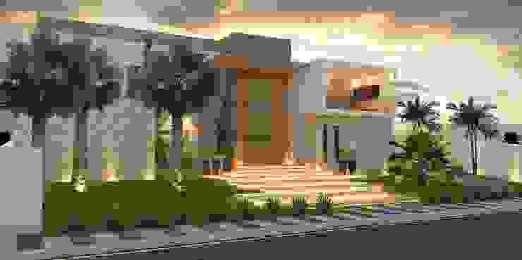 Casas  por THAYANA NIEBISCH ARQUITETURA E INTERIORES