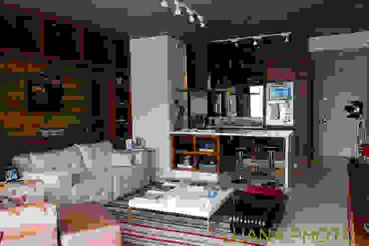 Living / Cozinha Salas de estar modernas por Marcelo Bicudo Arquitetura Moderno