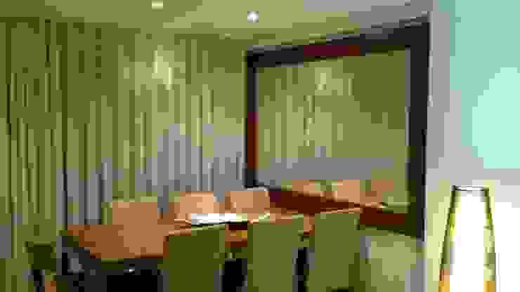 Modern dining room by Fernanda Bahia Arquitetura e interiores Modern