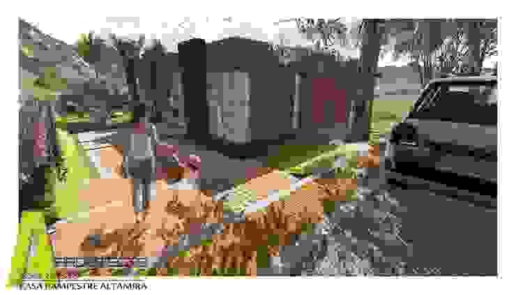 CASA ALTAMIRA Casas de estilo rústico de ARQUITECTO JUAN ANDRES GUTIERREZ PEREZ Rústico