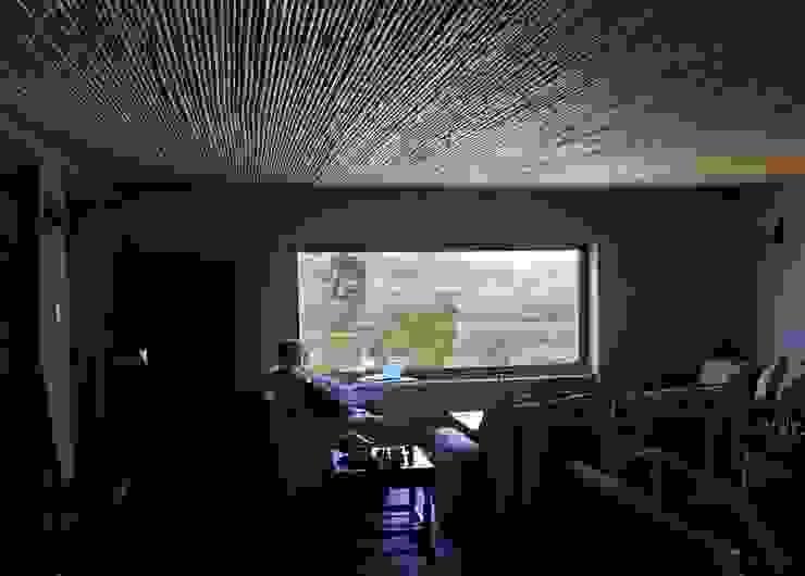 Living Livings de estilo de ALIWEN arquitectura & construcción sustentable - Santiago Rural