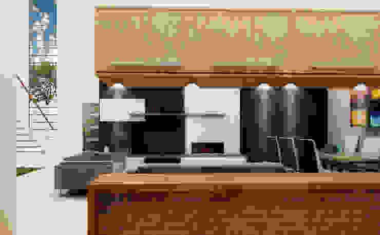 J-Gles Cocinas minimalistas de SANT1AGO arquitectura y diseño Minimalista