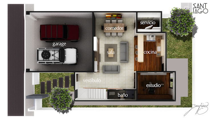 J-Gles de SANT1AGO arquitectura y diseño