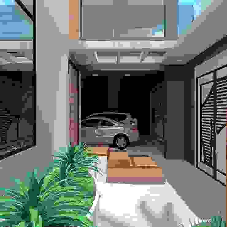 Entrada Principal: Casas  por alessandra_arquiteta
