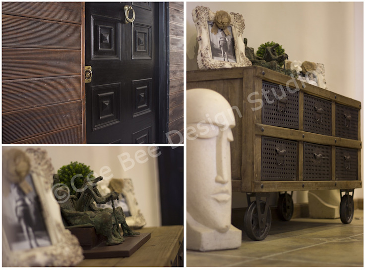 Entrance Area: country  by Cee Bee Design Studio,Country