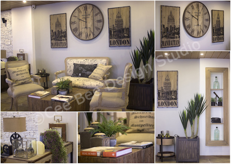 Living Room Modern living room by Cee Bee Design Studio Modern