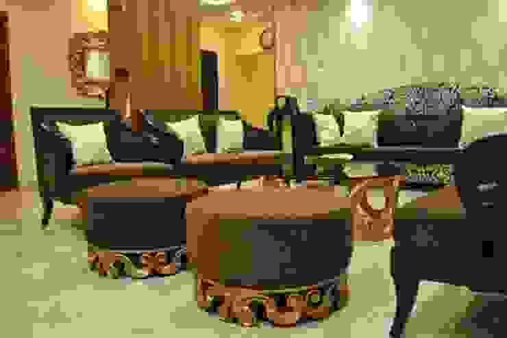 Vikas singh apartment Modern living room by Arturo Interiors Modern