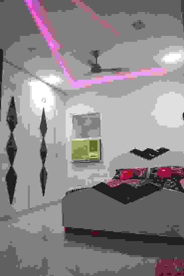 Vikas singh apartment Modern style bedroom by Arturo Interiors Modern