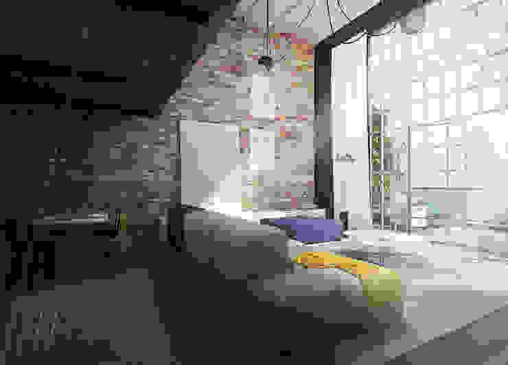 Livings industriales de AAW studio Industrial