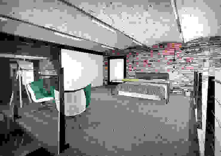 Industrial style bedroom by AAW studio Industrial