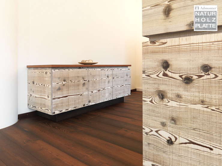 Admonter Paredes y suelos de estilo rústico de PAUMATS S.L. Rústico Madera Acabado en madera