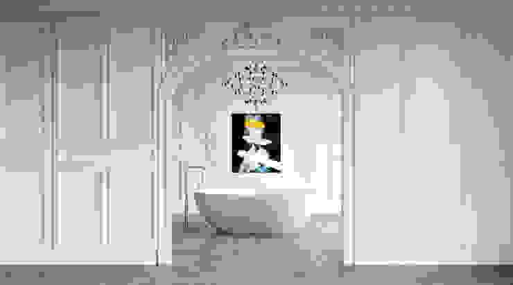 """Freistehende Badewanne """"PICHOLA"""" by VALLONE® Vallone GmbH Moderne Badezimmer Weiß"""