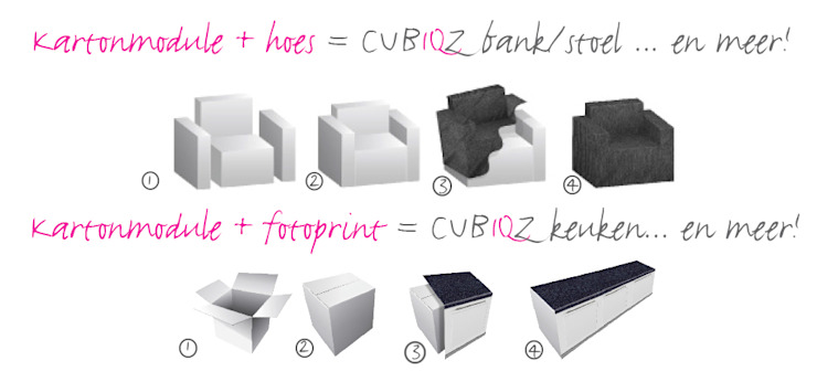 od CUBIQZ Clever Cardboard Creations