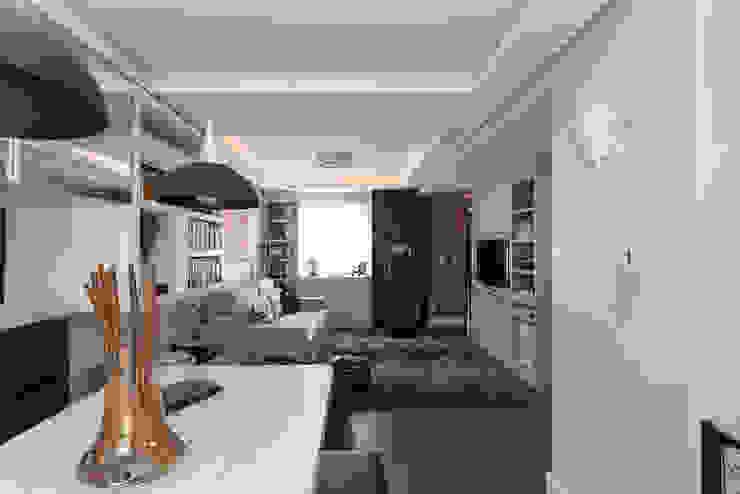 SDV | Estar Kali Arquitetura Salas de estar modernas
