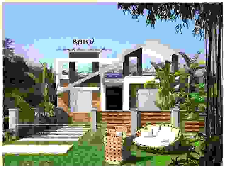 Farm House Modern houses by KARU AN ARTIST Modern