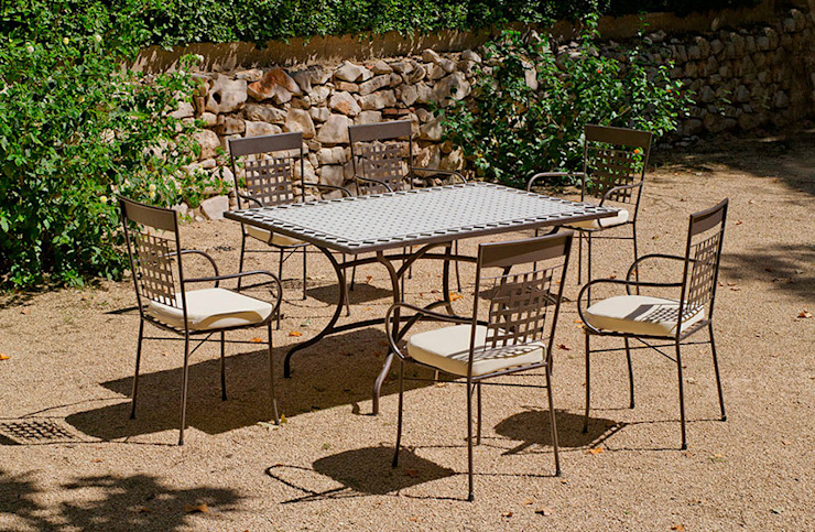 Hevea Garden Furniture Iron/Steel