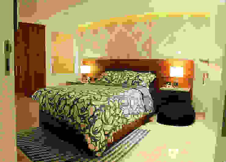 Modern style bedroom by JAVC ARQUITECTOS S.C Modern