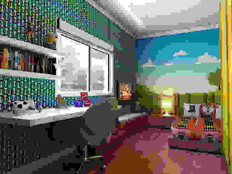 Dormitorios infantiles modernos de Lozí - Projeto e Obra Moderno