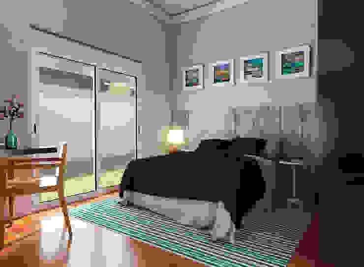 Habitaciones de estilo  por Lozí - Projeto e Obra