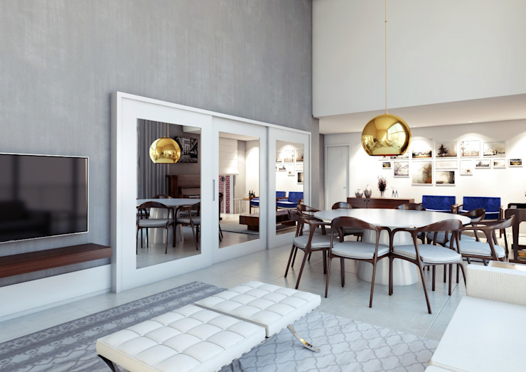 Modern dining room by Lozí - Projeto e Obra Modern