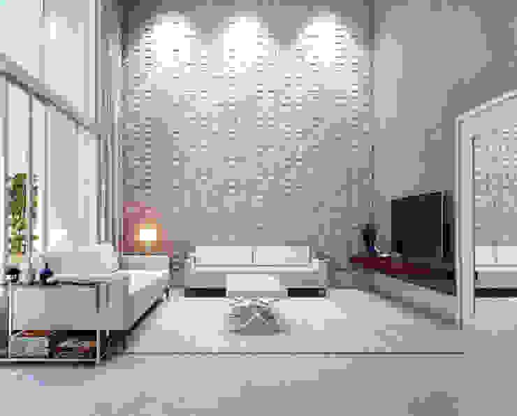 Salas de estilo  por Lozí - Projeto e Obra