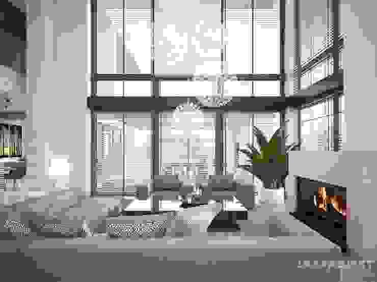 Salas de estilo moderno de LK&Projekt GmbH Moderno