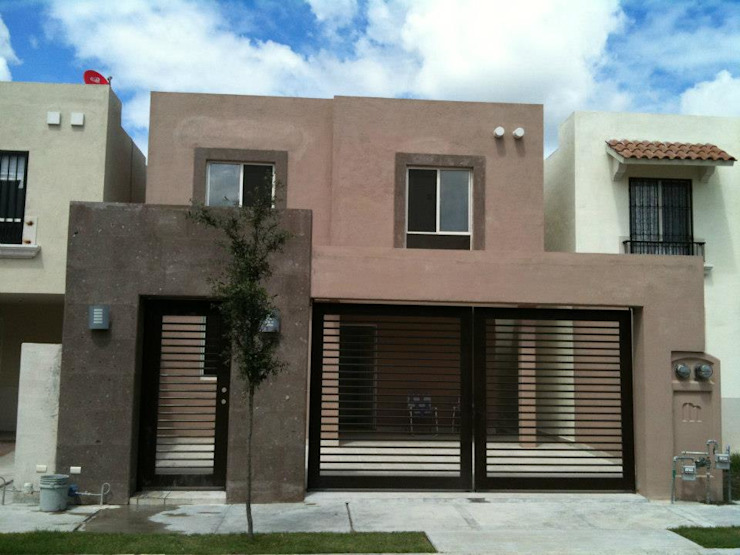 Casa Paraje Anahuac HERRADA Arquitectura Rumah Modern