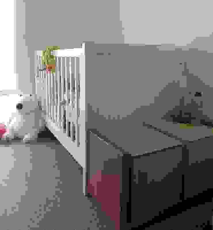 Proyecto General Ludwig Dormitorios infantiles de estilo moderno de Más Identidad Diseño Moderno