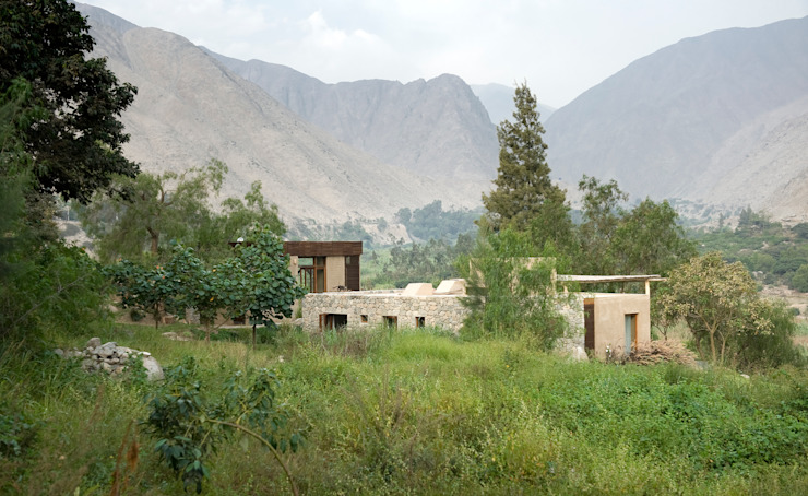 Casa Chontay Jardines de estilo moderno de Marina Vella Arquitectura Moderno