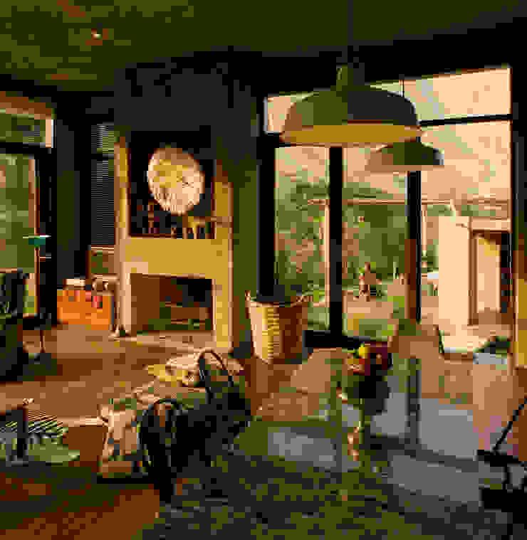 Casa Chontay Salas modernas de Marina Vella Arquitectura Moderno