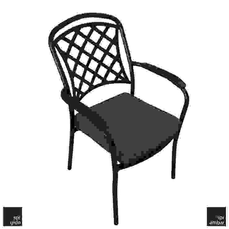 New Port Bistro Sandalye SPR AMBAR Bahçe Mobilyaları Endüstriyel