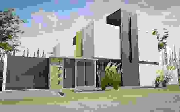 Casas de estilo minimalista de Chazarreta-Tohus-Almendra Minimalista