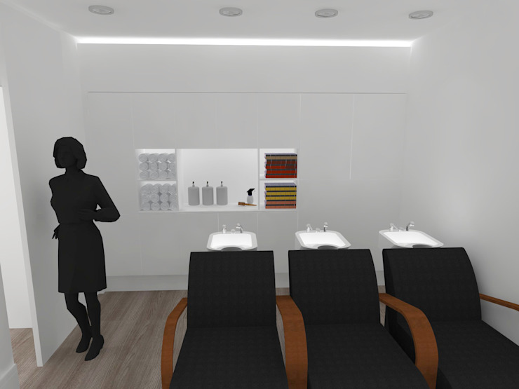 a Lojas e Espaços comerciais modernos por IDesign.art by Paula Gouveia Moderno
