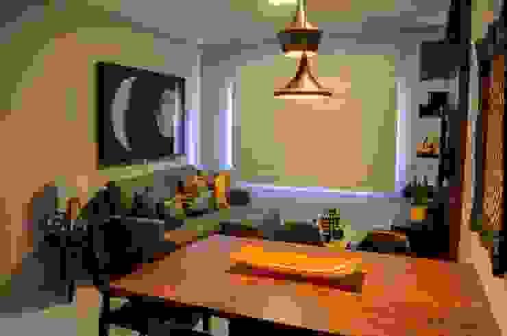 Moderne Wohnzimmer von Rachel Avellar Interiores Modern