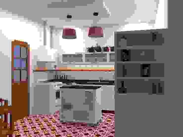 proyecto de cocina Cocinas eclécticas de Arq Mauricio Perdomo Ecléctico
