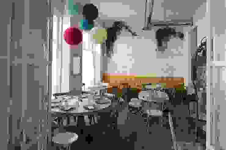 Misticanza - Ristorante a Roma LPA Sala da pranzo in stile mediterraneo