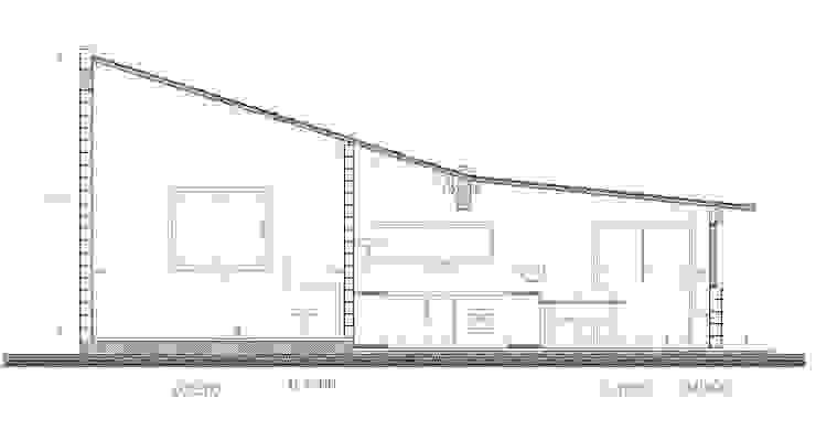 corte transversal de remodelacion de Estudio ZP