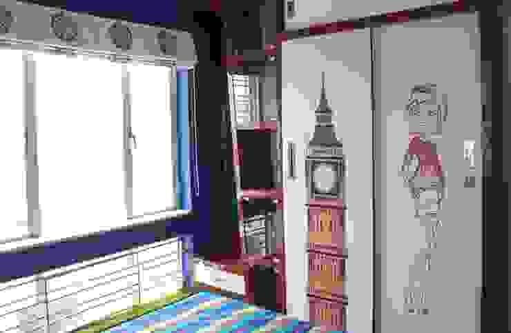 4 BHK in Bengaluru Modern style bedroom by Cee Bee Design Studio Modern