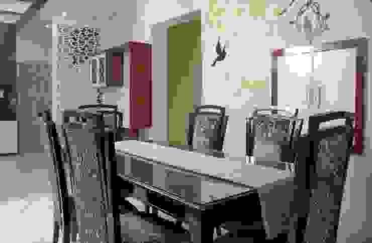 4 BHK in Bengaluru Cee Bee Design Studio Modern dining room