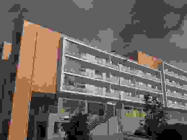 Loteamento de edifícios multifamiliares T2, T3, T4 - Vila Real - Portugal Casas modernas por SILFI - ARQUITETURA, ENGENHARIA E CONSTRUÇÃO Moderno Cerâmica
