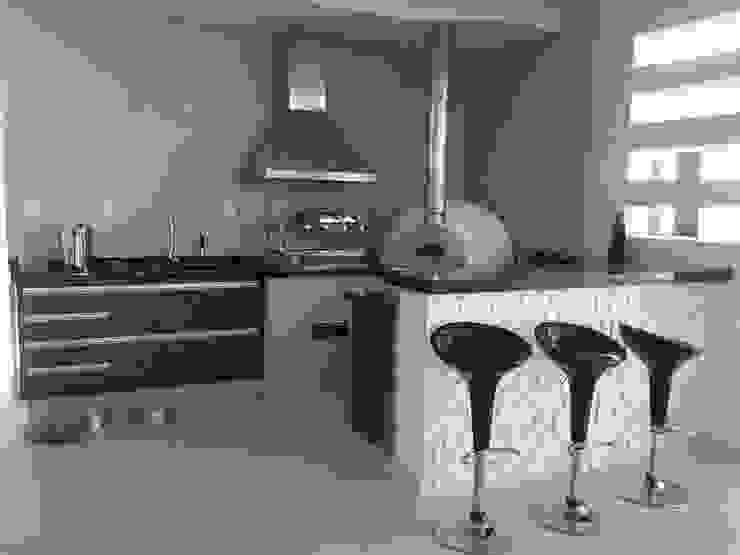 ESPAÇO GOURMET Varandas, alpendres e terraços modernos por Rachel Avellar Interiores Moderno