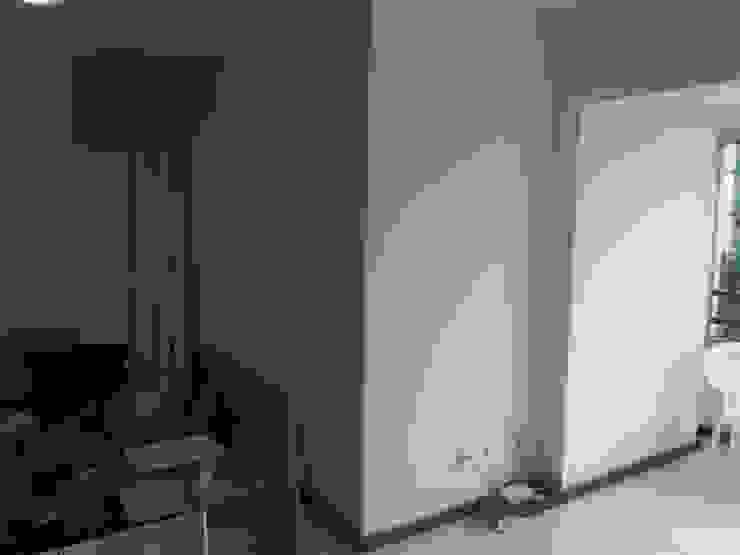 Sala arrumada e cozinha no jeitinho certo:   por Anderson Roberto  - Soluções Inteligentes para Ambientes