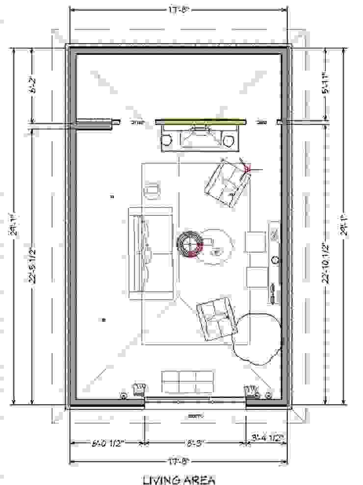 Nuevo plano del espacio de SilviaKarounos Decor Studio