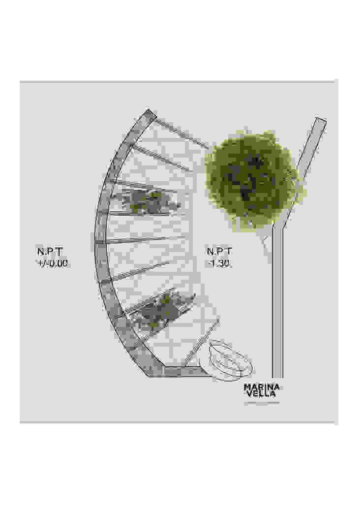 modern  door Marina Vella Arquitectura, Modern